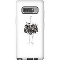 Balazs Solti Ostrich Phone Case for iPhone and Android - Samsung Note 8 - Tough Case - Matte from Balazs Solti