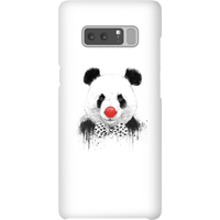 Balazs Solti Red Nosed Panda Phone Case for iPhone and Android - Samsung Note 8 - Snap Case - Gloss from Balazs Solti
