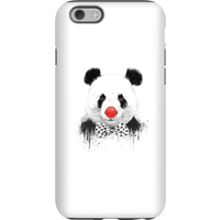 Balazs Solti Red Nosed Panda Phone Case for iPhone and Android - iPhone 6 - Tough Case - Gloss from Balazs Solti