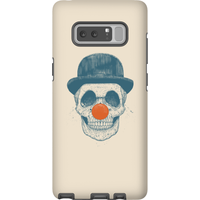 Balazs Solti Red Nosed Skull Phone Case for iPhone and Android - Samsung Note 8 - Tough Case - Matte from Balazs Solti