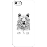 Balazs Solti Ring My Bear Phone Case for iPhone and Android - iPhone 5/5s - Snap Case - Gloss from Balazs Solti