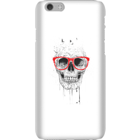 Balazs Solti Skull And Glasses Phone Case for iPhone and Android - iPhone 6 - Snap Case - Gloss from Balazs Solti
