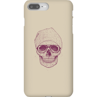 Balazs Solti Skull Phone Case for iPhone and Android - iPhone 8 Plus - Snap Case - Matte from Balazs Solti