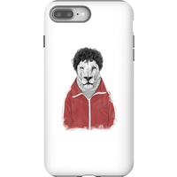 Balazs Solti Sporty Lion Phone Case for iPhone and Android - iPhone 8 Plus - Tough Case - Matte from Balazs Solti
