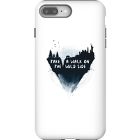 Balazs Solti Take A Walk On The Wild Side Phone Case for iPhone and Android - iPhone 8 Plus - Tough Case - Gloss from Balazs Solti