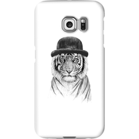 Balazs Solti Tiger In A Hat Phone Case for iPhone and Android - Samsung S6 Edge Plus - Snap Case - Gloss from Balazs Solti