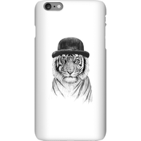 Balazs Solti Tiger In A Hat Phone Case for iPhone and Android - iPhone 6 Plus - Snap Case - Matte from Balazs Solti