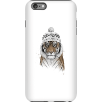 Balazs Solti Winter Tiger Phone Case for iPhone and Android - iPhone 6 Plus - Tough Case - Matte from Balazs Solti
