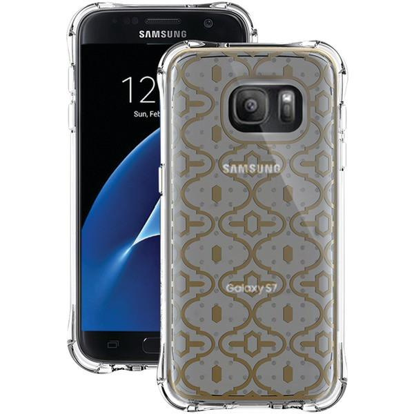 Ballistic Case Co. JM4091-B18N Samsung Galaxy S 7 Jewel Mirage Case (Translucent/Clear, Gold, KASBAH) from Ballistic Case Co.