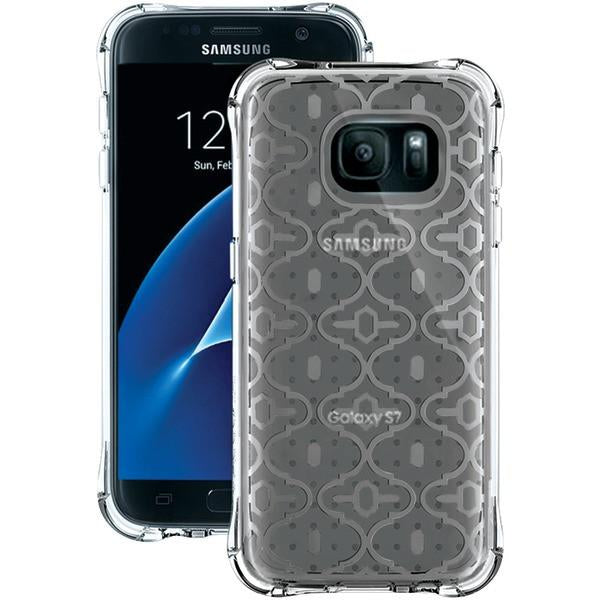 Ballistic Case Co. JM4091-B19N Samsung Galaxy S 7 Jewel Mirage Case (Translucent Clear/Silver, KASBAH) from Ballistic Case Co.