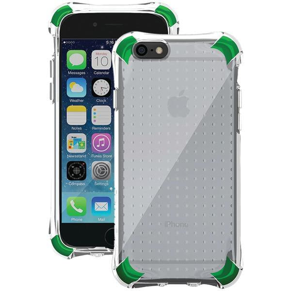 Ballistic Case Co. JS1465-A88N iPhone 6/6s Jewel Spark Case (Translucent Clear with Emerald Green Corners) from Ballistic Case Co.