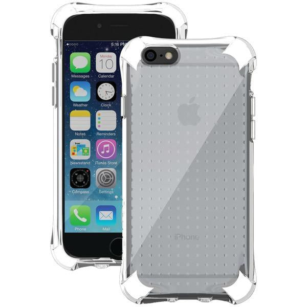 Ballistic Case Co. JS1465-B12N iPhone 6/6s Jewel Spark Case (Translucent Clear with White Corners) from Ballistic Case Co.
