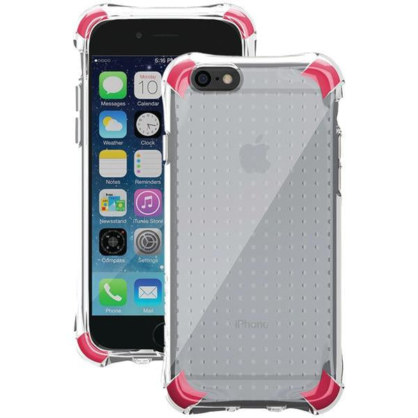 Ballistic Case Co. JS1465-B13N iPhone 6/6s Jewel Spark Case (Translucent Clear with Light Pink/Red Corners) from Ballistic Case Co.