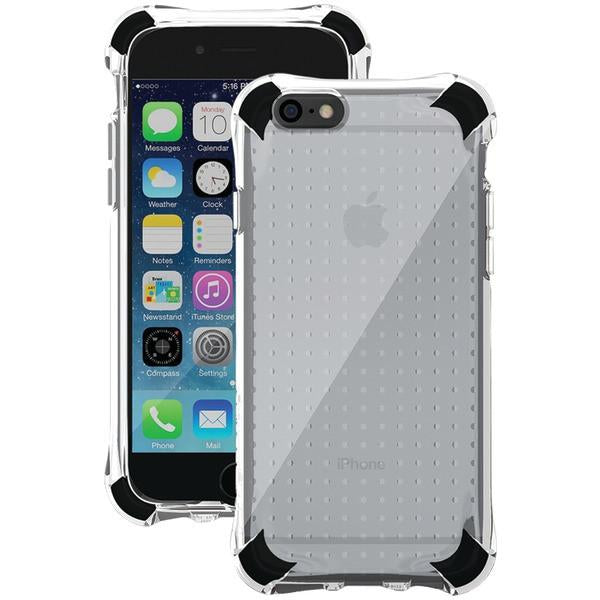 Ballistic Case Co. JS1465-B33N iPhone 6/6s Jewel Spark Case (Translucent Clear with Black Corners) from Ballistic Case Co.