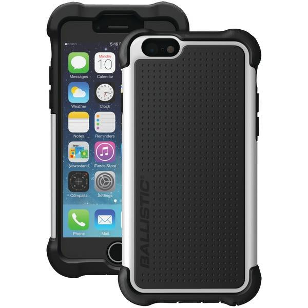 Ballistic Case Co. TX1416-A08C iPhone 6/6s Tough Jacket Maxx Case with Holster (Black/White) from Ballistic Case Co.