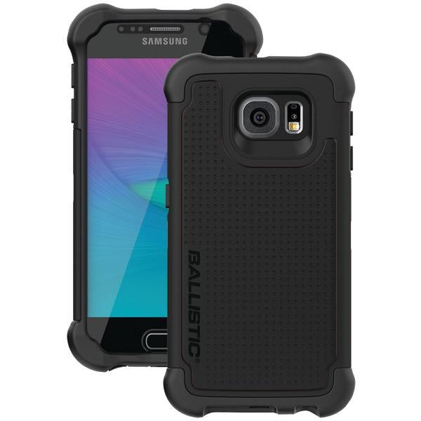 Ballistic Case Co. TX1603-A06N Samsung Galaxy S 6 Tough Jacket Maxx Case with Holster (Black) from Ballistic Case Co.