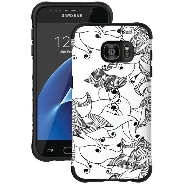 Ballistic Case Co. UT1688-B29N Samsung Galaxy S 7 Urbanite Select Case (Black Textured TPU with Spirit Pattern) from Ballistic Case Co.