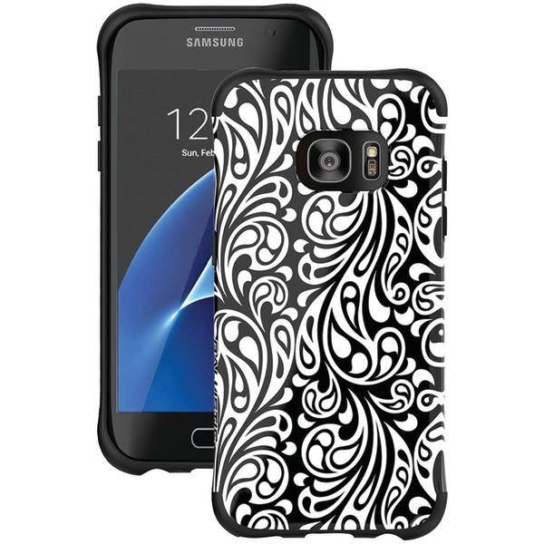 Ballistic Case Co. UT1689-B31N Samsung Galaxy S 7 edge Urbanite Select Case (Black Textured TPU with Spirit Pattern) from Ballistic Case Co.