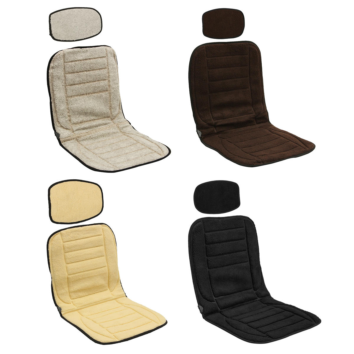 12V Plush Car Heating Pads from Banggood