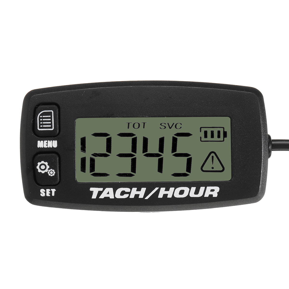 Backlit LCD Digital Tach Hour Meter Tachometer Waterproof 2/4 Stroke Engine from Banggood