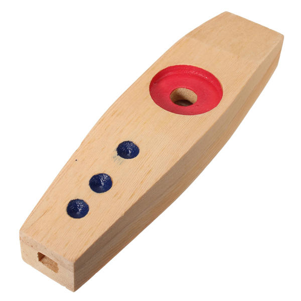 Orff Percussion Educational Toys Wooden Kazoo from Banggood