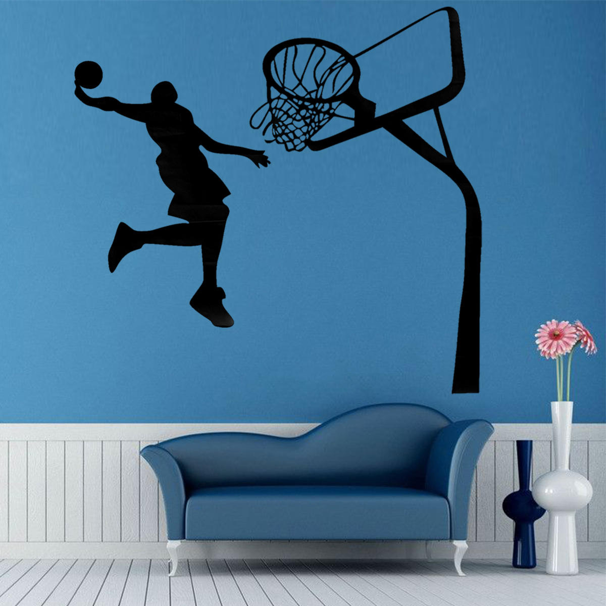 Removable Basketball Dunk Sport DIY Wall Sticker Kids Room Art Decor Decals from Banggood