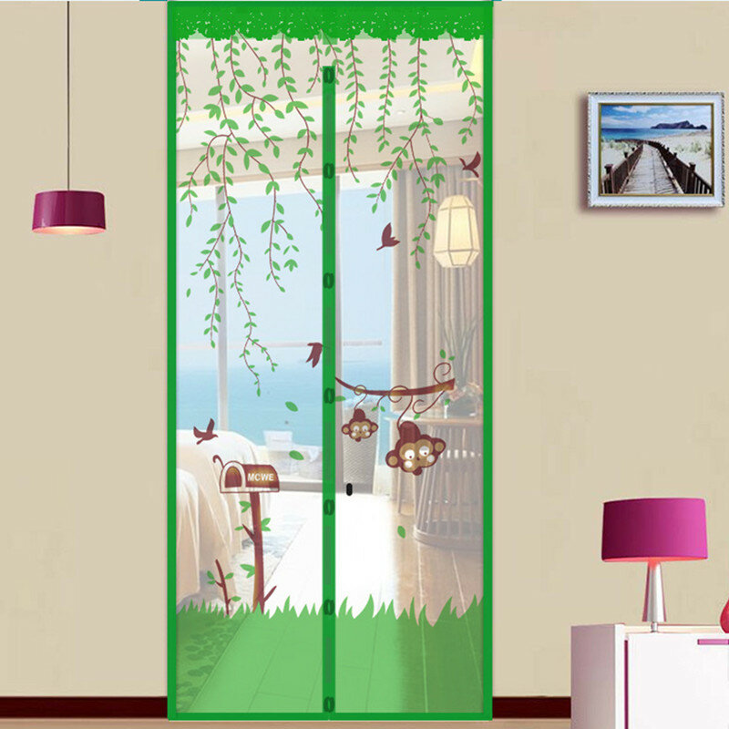 Summer Anti Mosquito Net Door Curtain Mesh Door Insect Fly Bug Net Magnetic Netting Mesh Screen from Banggood