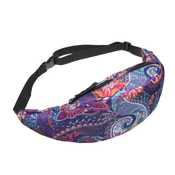 Women Print Unicorn Pocket Crossbody Bags Waist Bags from Banggood
