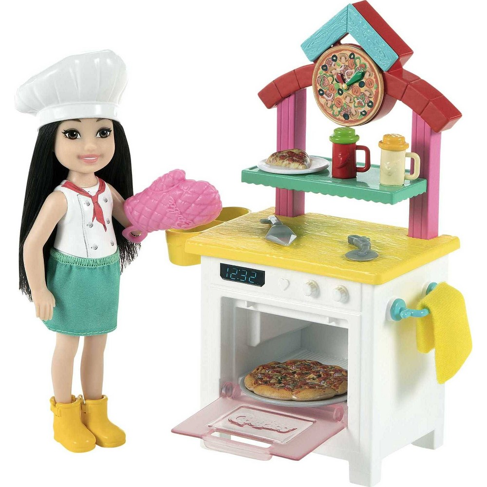 ?Barbie Chelsea Can Be Pizza Chef Doll Playset from Barbie