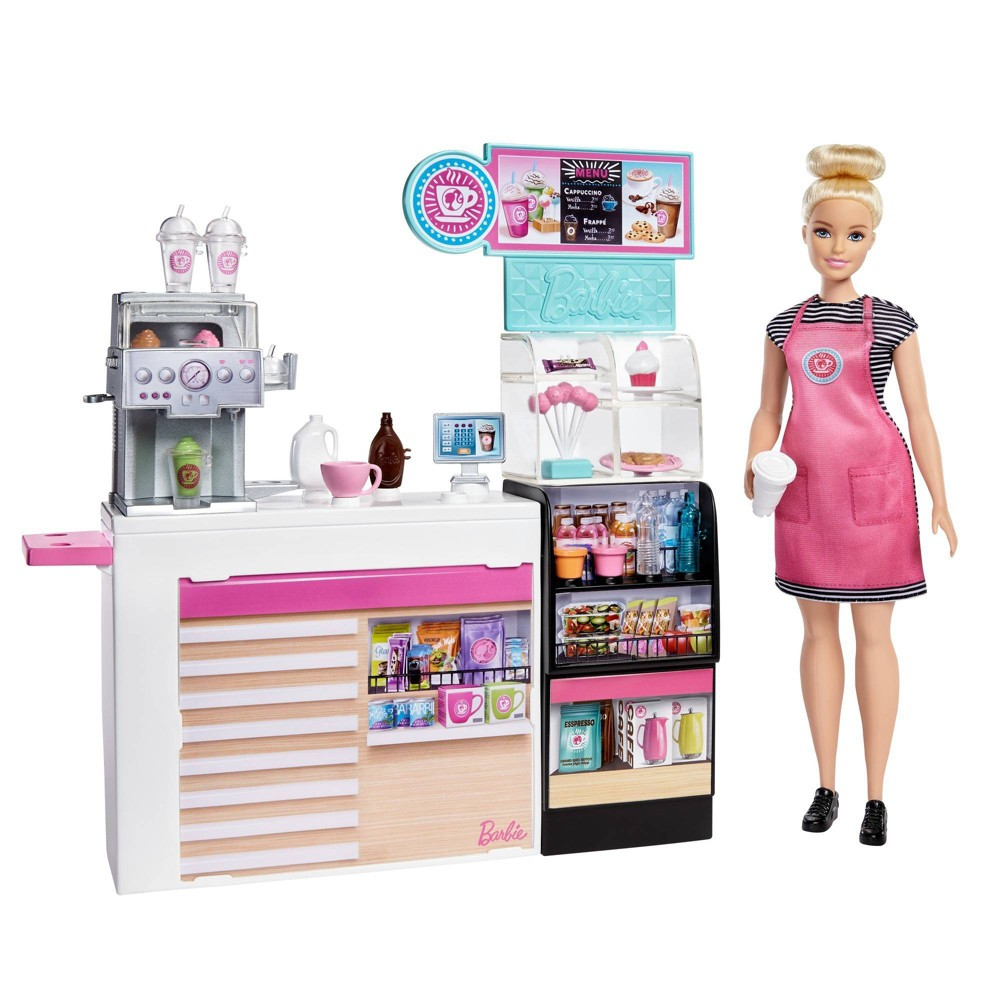 Barbie You Can Be Anything Coffee Shop Playset from Barbie