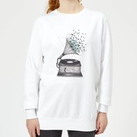 Escape Women's Sweatshirt - White - L - White from Barlena