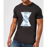 Feathers Men's T-Shirt - Black - XL - Black from Barlena