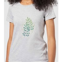 Geometry and Nature Women's T-Shirt - Grey - M - Grey from Barlena