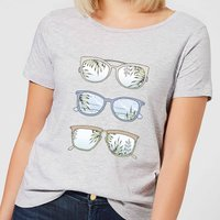 Good Times Women's T-Shirt - Grey - S - Grey from Barlena