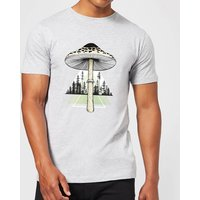 Growth Men's T-Shirt - Grey - XL - Grey from Barlena