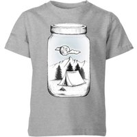 New Adventure Kids' T-Shirt - Grey - 7-8 Years - Grey from Barlena
