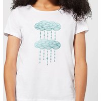 Rainy Days Women's T-Shirt - White - XL - White from Barlena