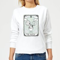 The Match Women's Sweatshirt - White - S - White from Barlena