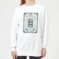 The Power Women's Sweatshirt - White - XL - White from Barlena