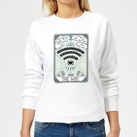 The Wifi Women's Sweatshirt - White - L - White from Barlena