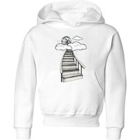 To The Moon and Back Kids' Hoodie - White - 5-6 Years - White from Barlena