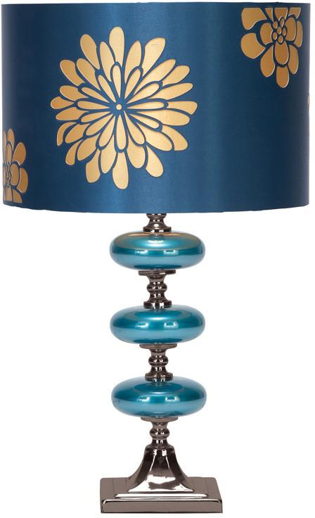 "Bayden Hill Metal Glass Table Lamp 23""H from Bayden Hill"