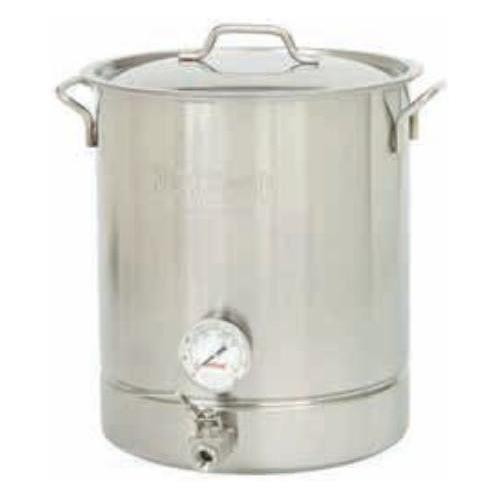 Bayou Classic 10-Gal. Brew Kettle Set, stainless, 40-Qt. 800-440  Kettle from Bayou Classic