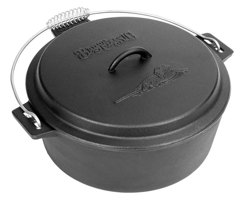 Bayou Classic 10-Qt. Cast IronChicken Fryer, Dutch Oven Lid 7410  Fryer from Bayou Classic