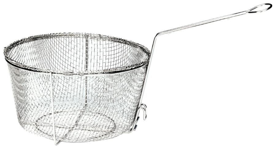 "Bayou Classic 11.5"" Nickel-Plated Fry Basket from Bayou Classic"