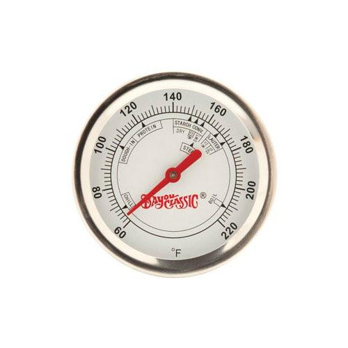 "Bayou Classic 12"" Brew Thermometer with clip 800-772  Thermometer from Bayou Classic"