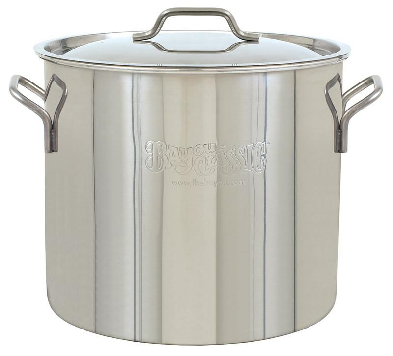 Bayou Classic 20-Qt. Brew Kettle, stockpot and lid 1420  Kettle from Bayou Classic