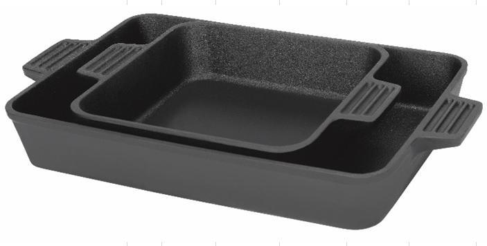 Bayou Classic 7474 8 and 13-in Bake Pan Set from Bayou Classic