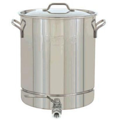 Bayou Classic 8 Gallon Stainless Steel Stockpot With Spigot from Bayou Classic