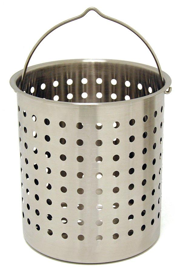 Bayou Classic 82 Quart Stainless Steel Boil Basket from Bayou Classic